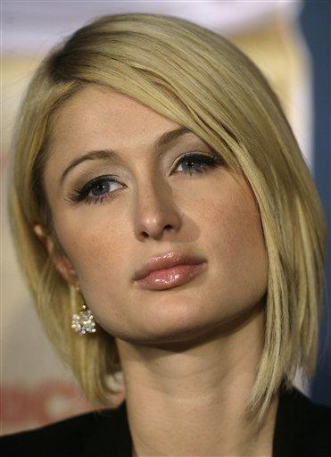Paris Hilton Hair Style Hot Face Look