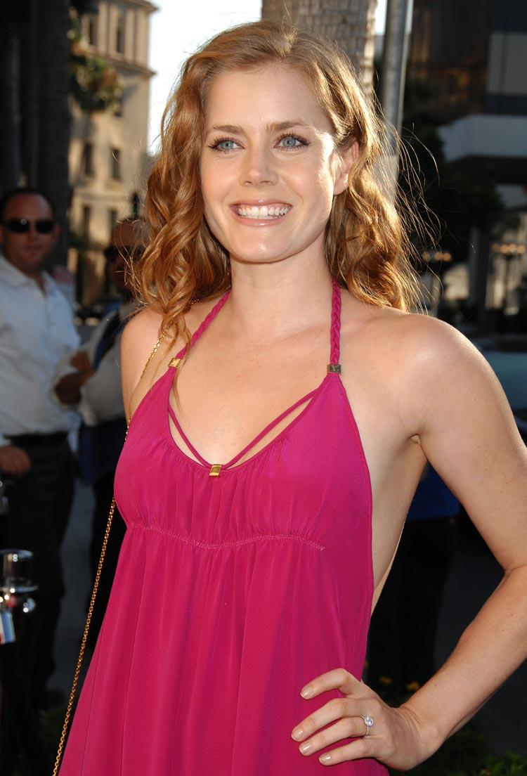 Amy Adams Rose Color Dress Picture