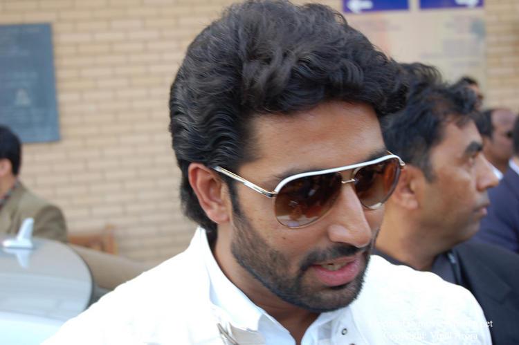 Abhishek Bachchan at IIFA Cricket Match