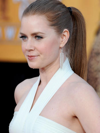 Amy Adams White Dress Side Awesome Still