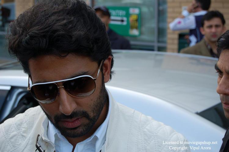 Another closeup of Abhishek Bachchan