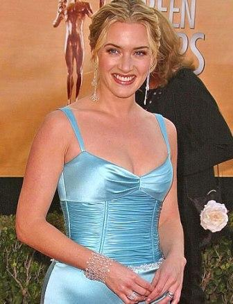 Kate Winslet Tight Dress Glamour Still