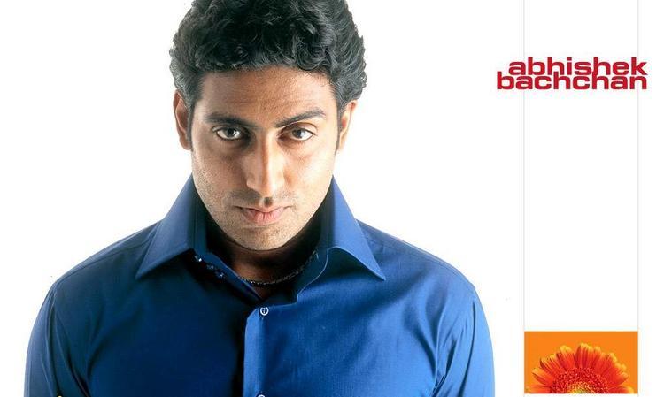 Abhishek Bachchan Blue Shirt Wallpaper