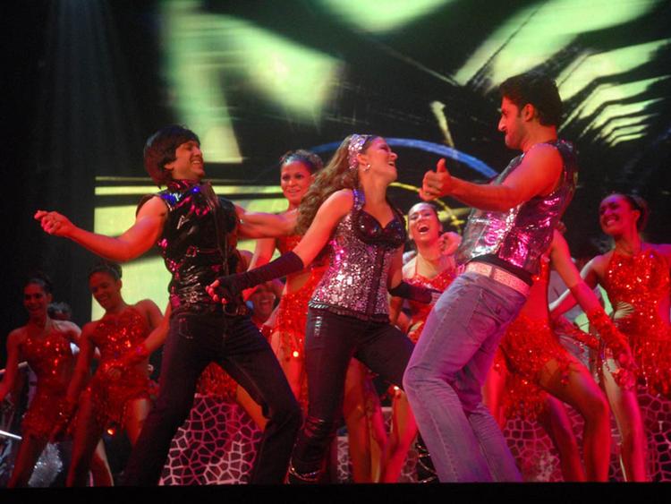 Aishwarya Rai with Abhishek Bachchan Pic