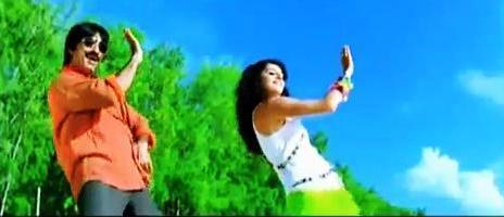 Ravi Teja Cute Dance Still