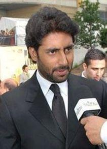 Abhishek bachchan Looking Handsome at press meet