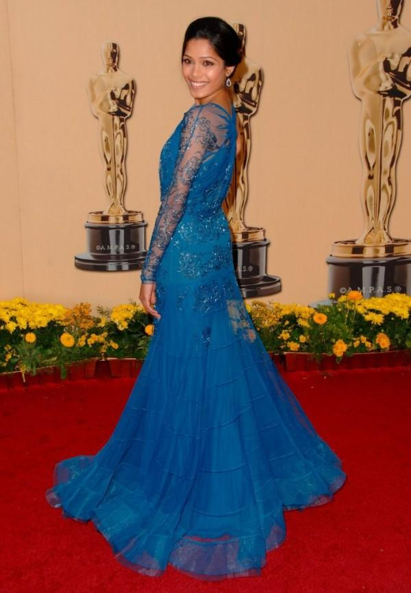 Freida Pinto Beautiful Gown Glamour Still