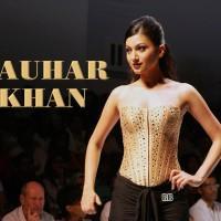 Gauhar Khan Glamour Beauty Wallpaper