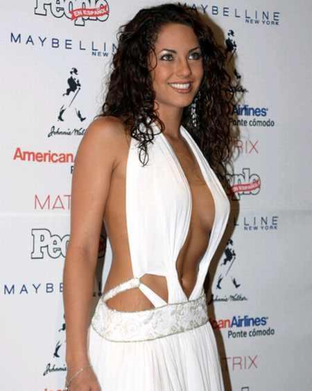 Barbara Mori Hot Dressing Still