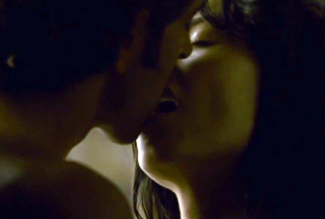 Hrithik Roshan and Barbara Mori Lip Kiss Hot Still