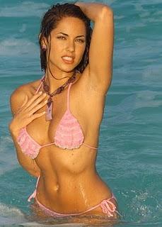Barbara Mori Sexiest Still In Water