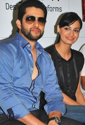 Aftab and Dia Mirza At Acid Factory Promotional Event