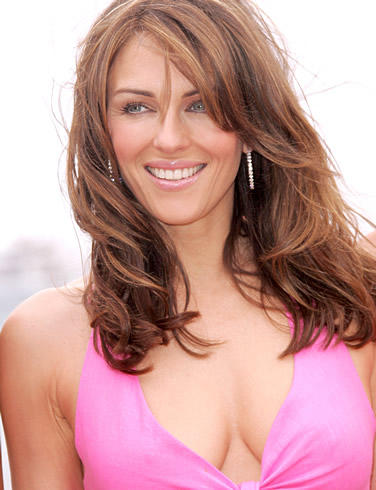 Elizabeth Hurley Beauty Smile Pic