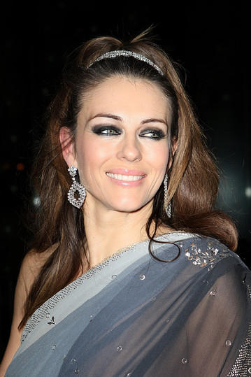 Elizabeth Hurley Saree Glory Beauty Face Still