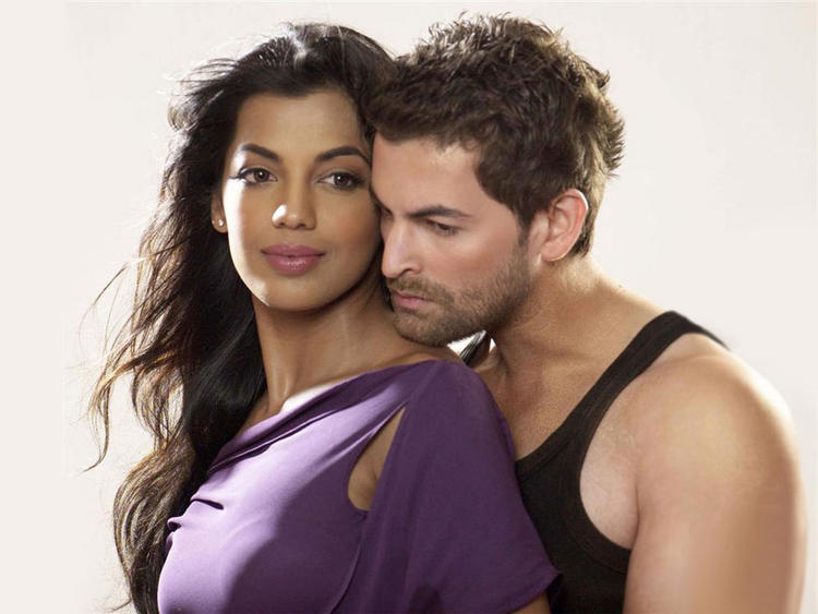 Mugdha Godse with Neil Nitin Mukesh Hot Wallpaper