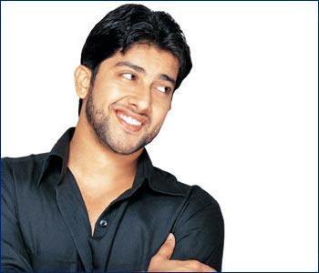 Aftab Shivdasani with open smile