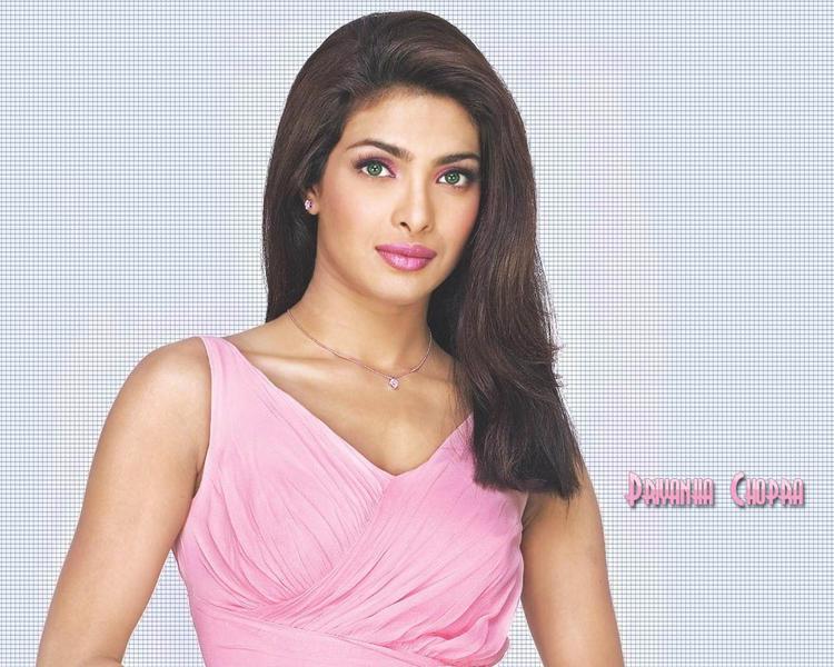 Priyanka Chopra Pink Dress Wallpaper