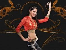 Anushka Sharma Hot Navel Wallpaper