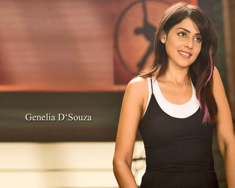 Genelia Dsouza Gorgeous Wallpaper