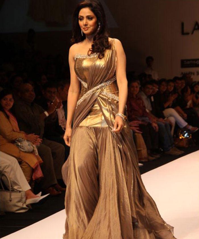 Sridevi Kapoor Amazing Gown Latest Still