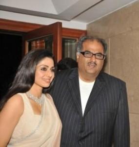 Sridevi Kapoor With Boney Kapoor