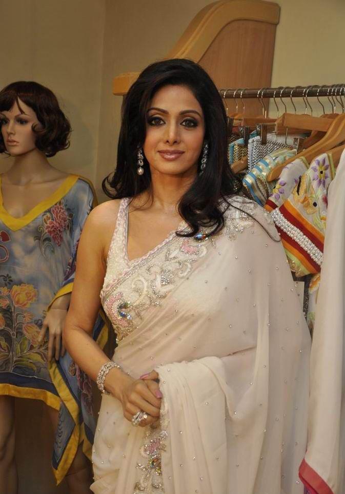 Sridevi in Transparent Saree