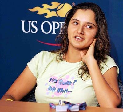 Sania Mirza At US Open Tennis Still