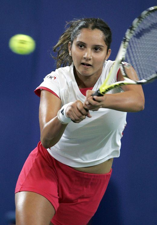 Indian Tennis Star Sania Mirza Photo