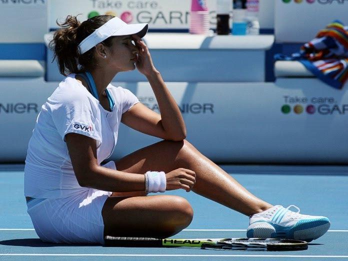 Indian Tennis Player Sania Mirza Images