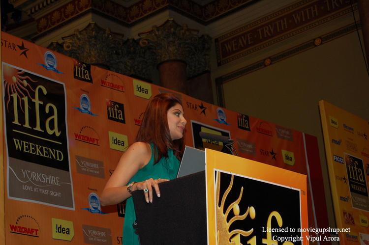 Shilpa Shetty at IIFA 2007