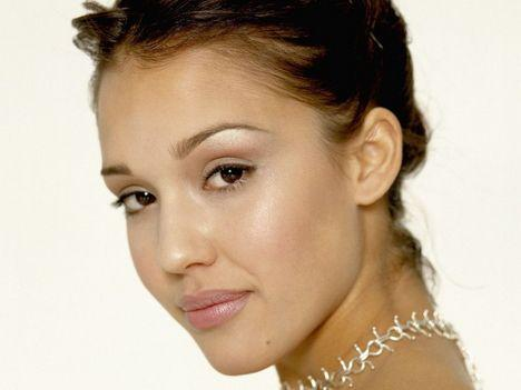 Jessica Alba Cute Hot Face Still