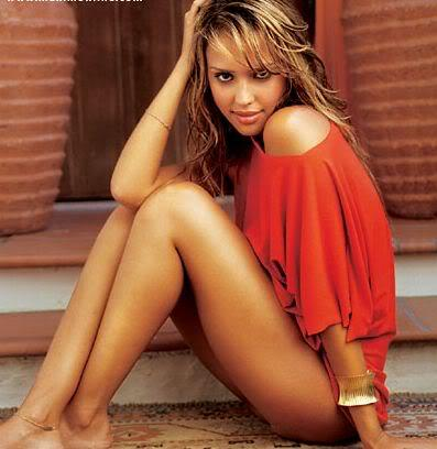 Jessica Alba Showing Her Sweet Things
