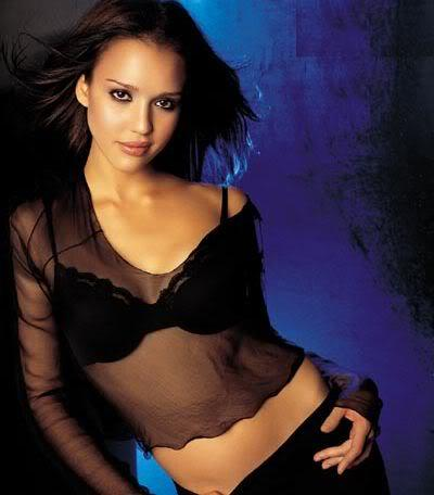Jessica Alba Romantic Look Photo Shoot
