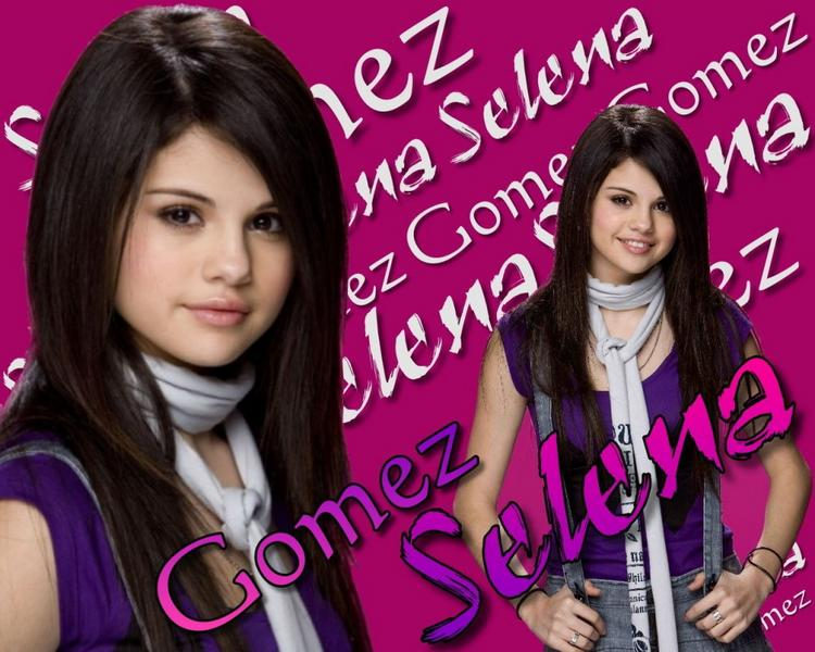 Cute Hollywood Babe Selena Gomez Wallpaper