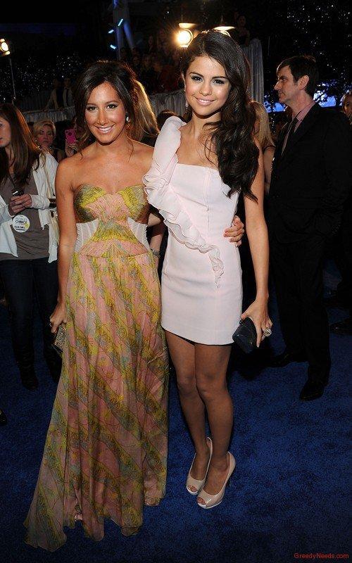 Selena Gomez White Dress Glamour Still