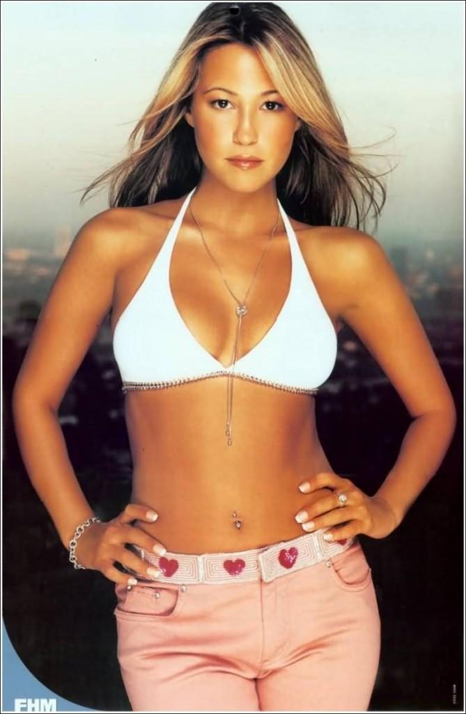 Rachel Stevens Open Boob Glamour Still