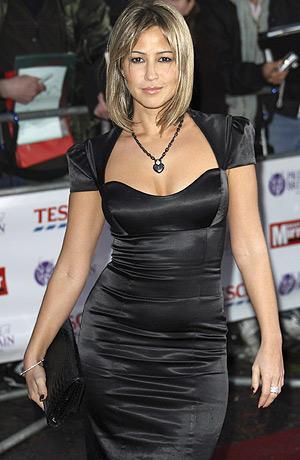 Rachel Stevens Black Dress Awesome Still