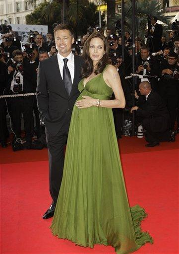 Angelina Jolie Pregnant Pic On Red Carpet