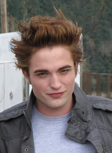Robert Pattinson Romantic Face Look