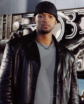 Will Smith Black Color Jacket Latest Still