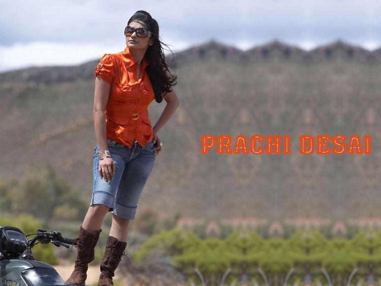 Prachi Desai Stylist Pose Photo