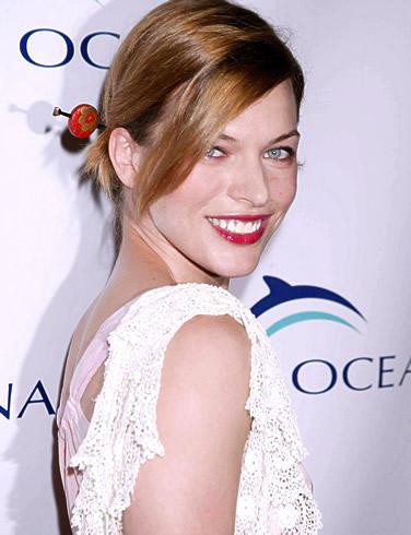 Milla Jovovich Beauty Still