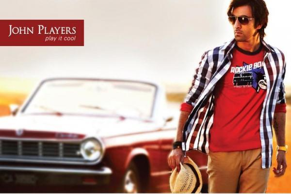 John Players India Ranbir Kapoor Latest Shirts and Jeans Pic