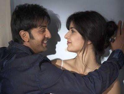 Katrina Kaif Ranbir Kapoor Romance Still