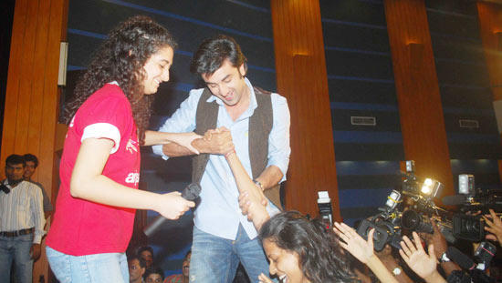 Ranbir kapoor Birth Day Public Photo