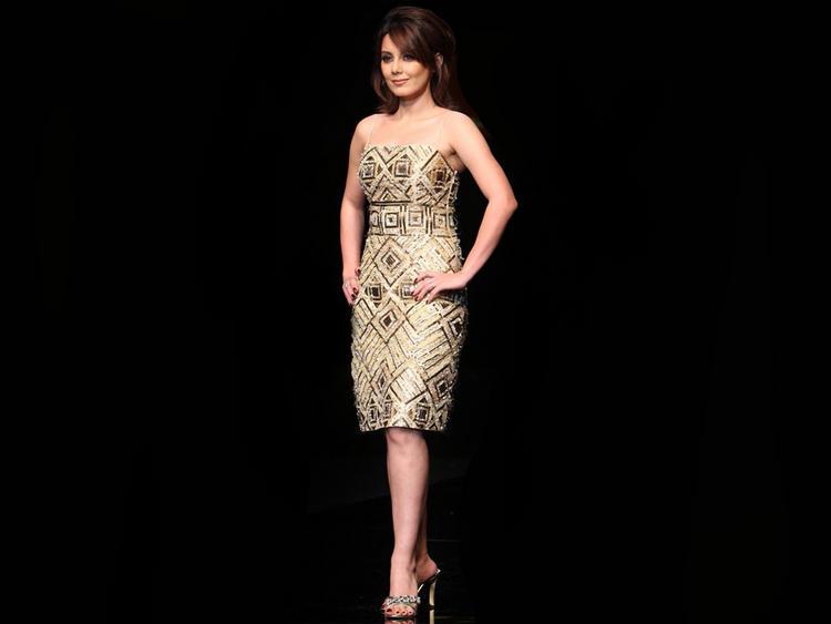 Minisha Lamba Sleeveless Dress Wallpaper