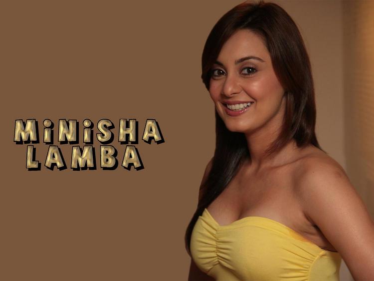 Minisha Lamba Gorgeous Smile Wallpaper