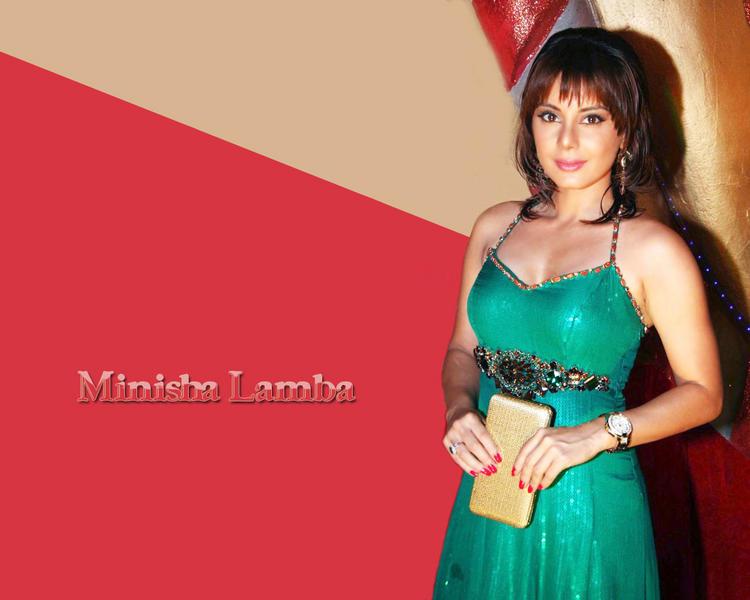 Minisha Lamba Bikini Dress Glamour Wallpaper