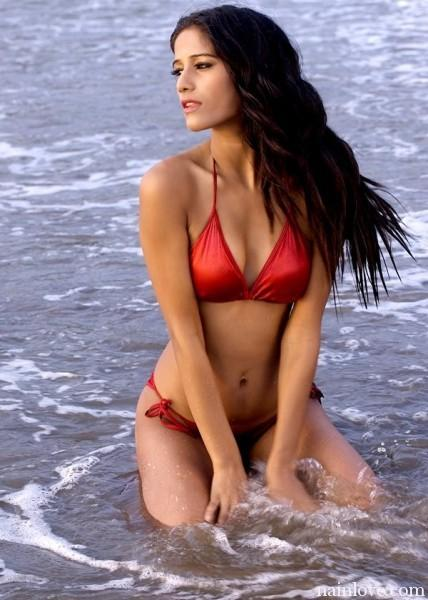 Poonam Pandey Sexiest Photo Shoot on Beach