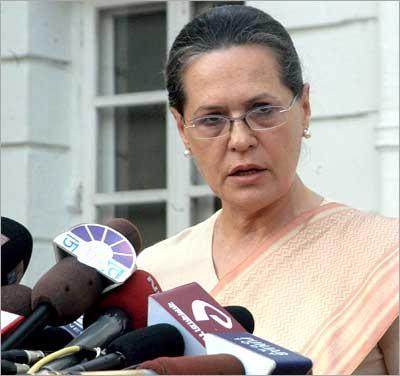 Sonia Gandhi Pressmeet Still